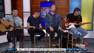 Indie-pop obsessed musicians 'The Kents' perform The Morning Show